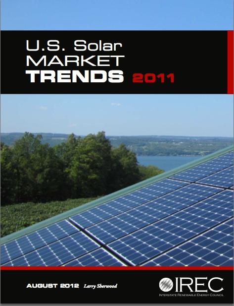 IREC U.S. Solar Market Trends Report 2011