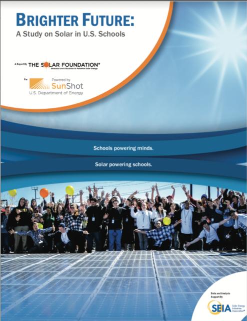 Brighter Future: Solar in Schools Report 2014