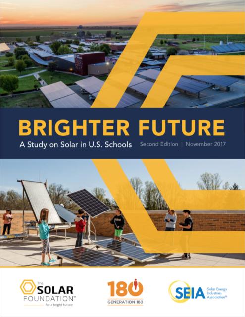 Brighter Future: Solar in Schools Report 2017