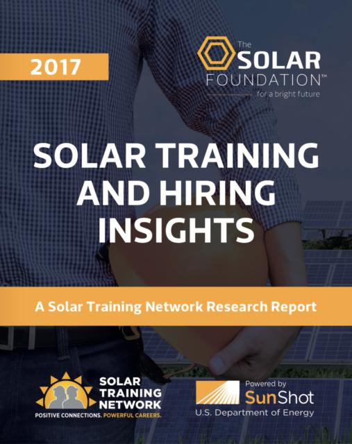 Solar Training and Hiring Insights
