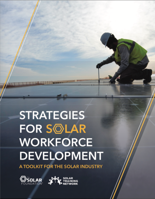 Strategies for Workforce Development: A Toolkit for the Solar Industry
