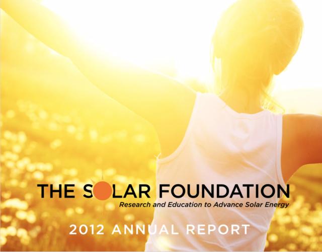 The Solar Foundation Annual Report 2012