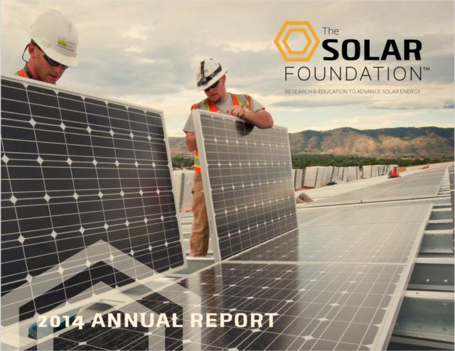The Solar Foundation Annual Report 2014