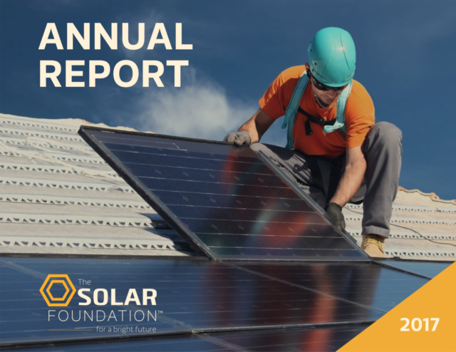 The Solar Foundation Annual Report 2017