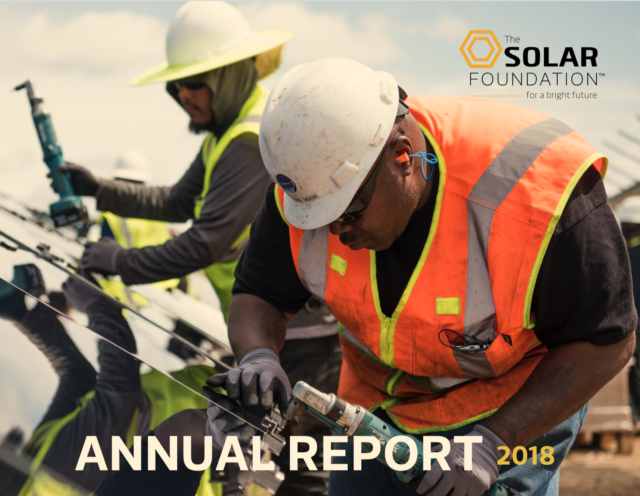 The Solar Foundation Annual Report 2018