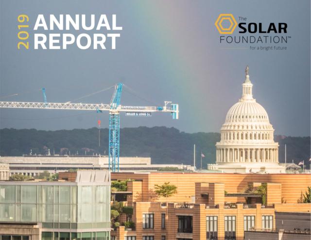 The Solar Foundation Annual Report 2019