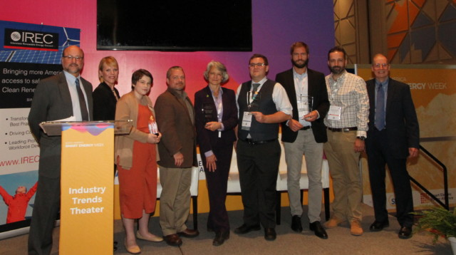 National 3iAward Winners and Energy Heroes  Honored by IREC at Solar Power International