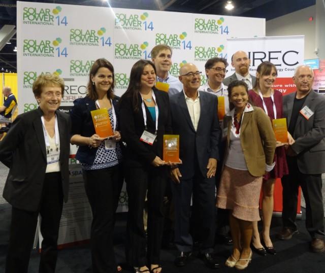National 3<em>i</em>Awards Presented by Interstate Renewable Energy Council at SPI
