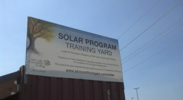 SLCC Solar Training Yard Expands; Receives Cutting Edge Equipment Donations
