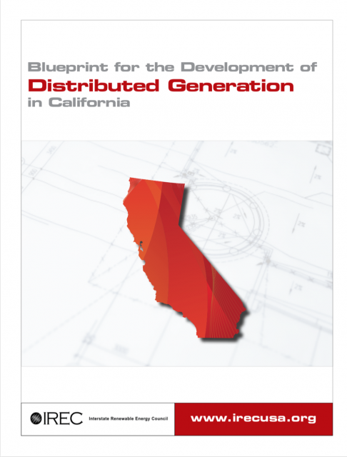 IREC Blueprint for the Development of Distributed Generation in CA