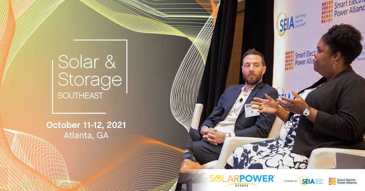 Solar and Energy Storage Southeast: October 11-12
