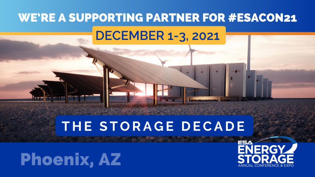 Energy Storage Annual Conference & Expo 2021, December 1-3